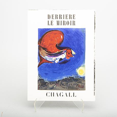 "Tidskrifter, 19 st, ""derriere le miroir""."