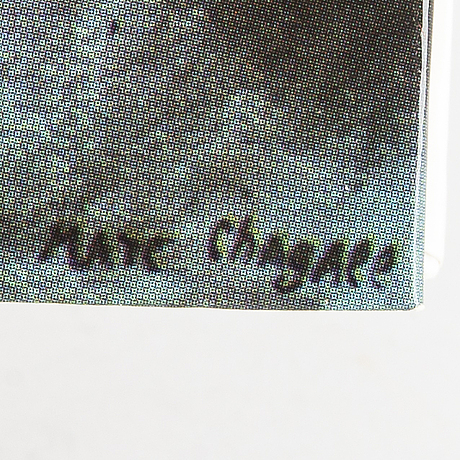 """BÖcker, 7 st, bl a chagall """"le plafond de l'opera"""" och b buffet """"oevre gravé""""."""