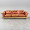 "Yngve ekstrÖm, soffa, ur serien ""kontrapunkt"", swedese möbler ab, modellen lanserad 1968."