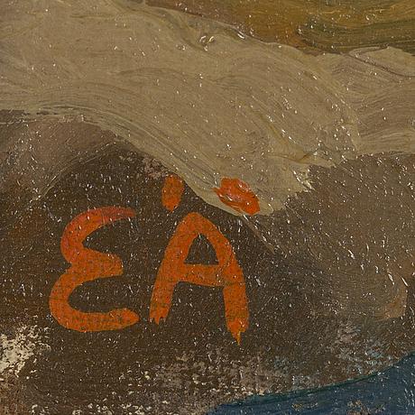 Erling Ärlingsson, oil on canvas, signed eÄ.