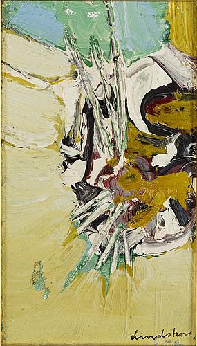Bengt lindstrÖm, canvas, signed lindström.