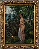 Berndt lagerstam, oil on board, signed.