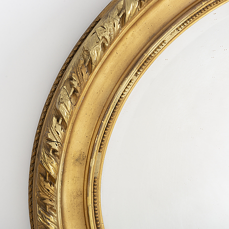 A late 19th century mirror.