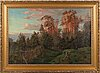 Harald pryn, oil on canvas, signed.