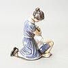 Figurin, porslin, dahl jensen, danmark.