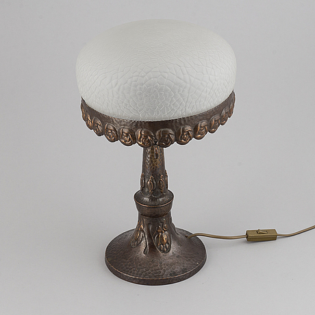 A jugend table lamp, early 1900's.