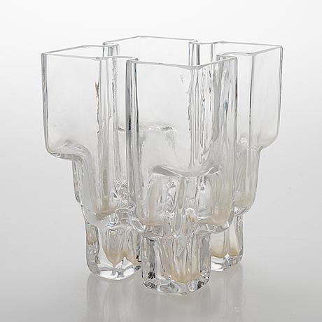 Helena tynell, a '6608' vase signed helena tynelll riihimäen lasi.