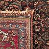 A semiantique bidjar carpet ca 153 x 114 cm.