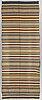 A textile, flat weave, ca 198-199 x 75-77,5 cm, scandinavia around 1900.