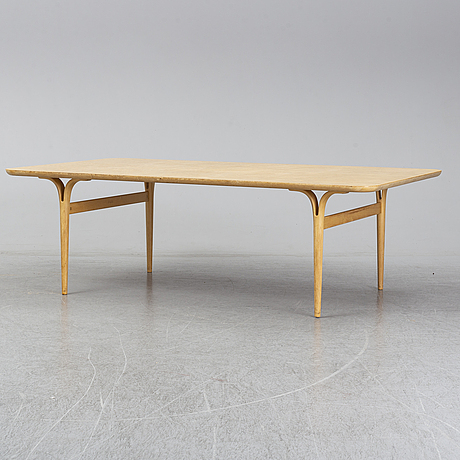Bruno mathsson, soffbord, firma karl mathsson, värnamo, 1965.