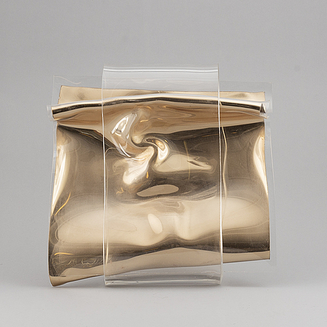 Jan naliwajko, sculpture, plexi, signed j. naliwajko and dated 1998.