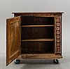 A painted cabinet from dalarna, dated 1802.