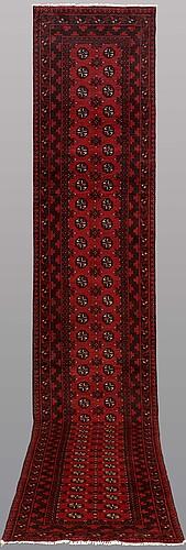 A runner, afghan, ca 498 x 83 cm.