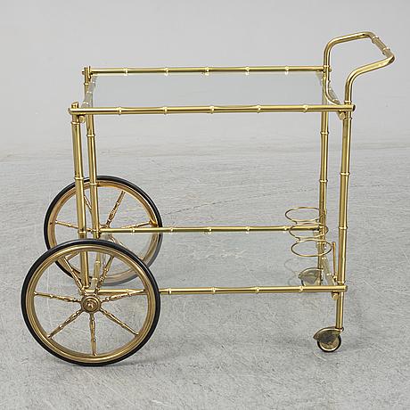 Serveringsvagn, 1900-talets andra hälft.