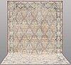 A carpet, oriental, ca 348 x 247 cm.