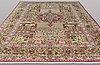 A carpet, figural kashmar, ca 431 x 303 cm.