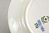 """Servis ca 71 dlr, """"musselmalet helblonde"""", royal copenhagen danmark 1900-talets andra hälft porslin."""