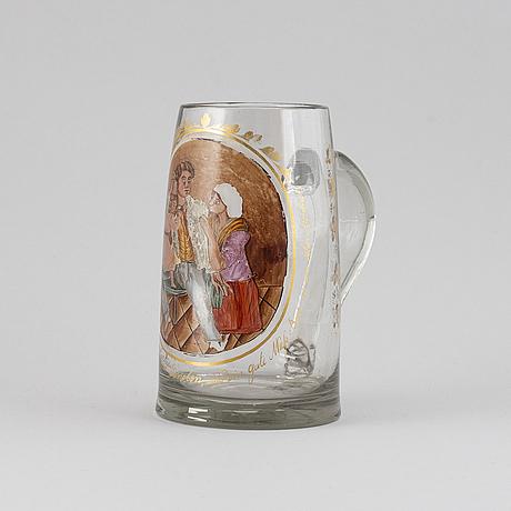 Stop, glas, tyskland, 1800-talets första hälft.