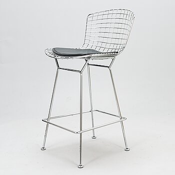 HARRY BERTOIA, bar stool, Knoll International.
