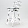 Harry bertoia, bar stool, knoll international.