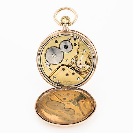 Omega, pocket watch, 44 mm.