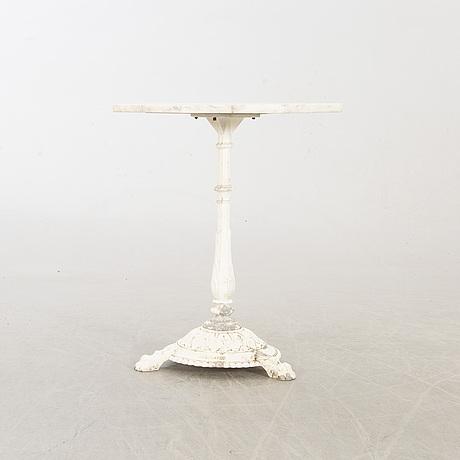 TrÄdgÅrdsbord, byarum, 1900-talets andra hälft.