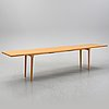 Jonas lindvall, an oak dining table, skandiform.