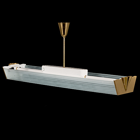 A middle of 20th century swedish industrial light by lm eriksson.