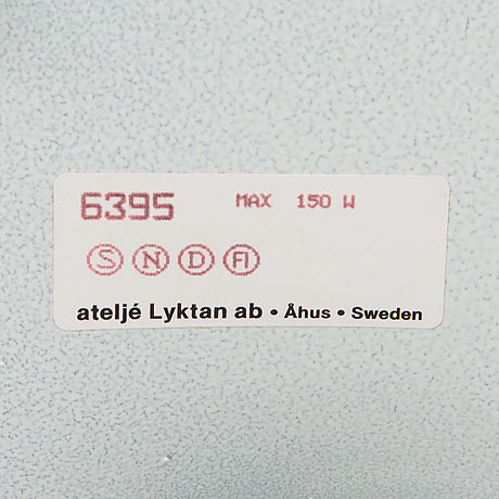 "Anna ehrner, lattiavalaisin, ""anna"", ateljé lyktan, Åhus."