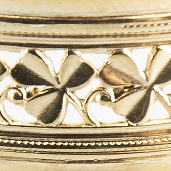 K&e karlsson brudkrona göteborg 1941 förgyllt silver.