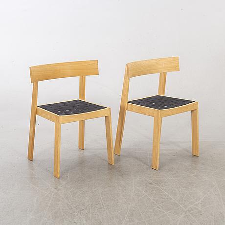 A pair of 19th century chairs from  sorø stolefabrik, denmark.