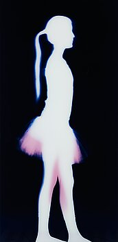 """2. Charlotte Gyllenhammar, """"Agnes, stående 4 juni 2009""""."""