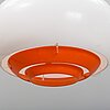 A bergboms floor, ceiling and table lamp, 1960's/70's.