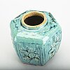 A chinese 19th century stoneware urn.