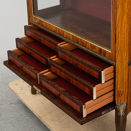 A louis-xvi style display cabinet, third quarter of 20th century.