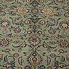 A carpet, kashan, ca 418 x 310 cm.