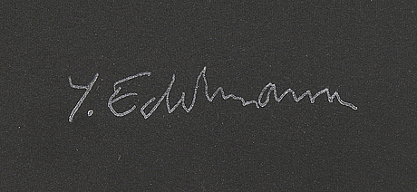 YrjÖ edelmann, lithograph in colours, 1980, stamped signature 68/150.
