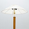 Paavo tynell and paul boman, a 1950's floor lamp by  idman /oy paul boman ab.