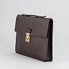 Louis vuitton, a 'taiga serviette kourad' briefcase.