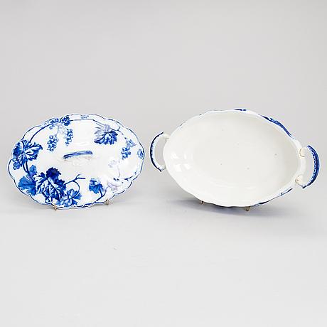 A 62-piece johnson brothers dinnerware set.