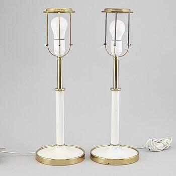 JOSEF FRANK, a pair of model 2466 table lights.