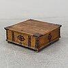 A 1700's oak chest.