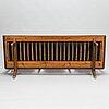 Carl gustaf hiort af ornäs, a mid-20th century 'studio' sofa for  hiort tuote puunveisto oy - träsnideri ab.