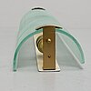 A 1930/40's wall light from glössner & co, signed.