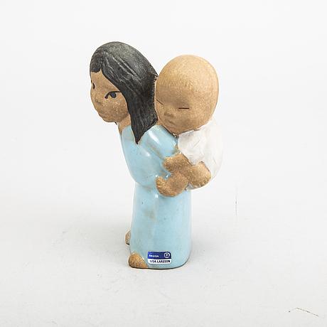 Lisa larson, 4 st figuriner, gustavsberg.