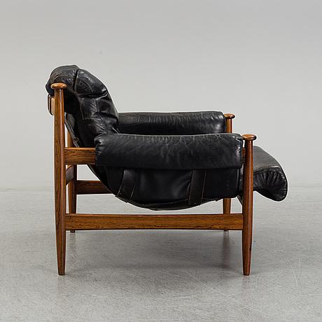 Eric merthen, a 'amiral' easy chair, , ire möbler, skillingaryd, 1960's.