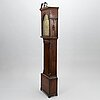 A georgian long-case clock from 1784 by john law of beth, england.