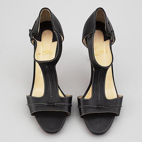 Christian louboutin, sandals, size 40 1/2.