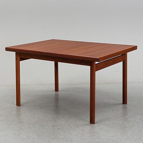 A 1960s teak table.