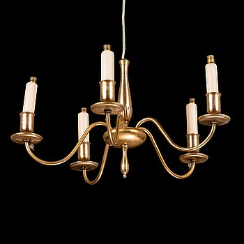 PAAVO TYNELL, a 1930's '1451' chandelier for Taito.